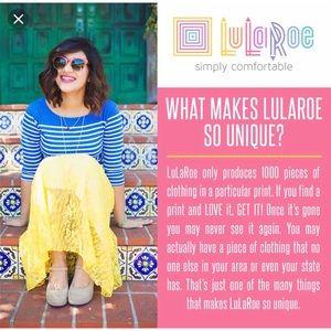 LuLaRoe Pants - LuLaRoe Burgundy One Size Leggings (Sizes 2-10)